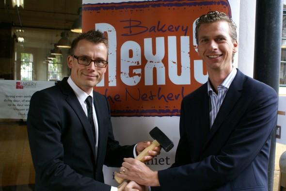 Martijn Meijer en Co Schilder (rechts)